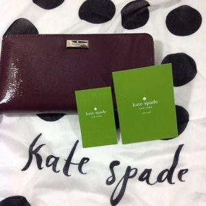 Kate Spade Maroon Wallet. Brand new
